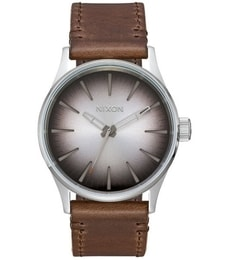 Hodinky Nixon Sentry Leather A377-2594