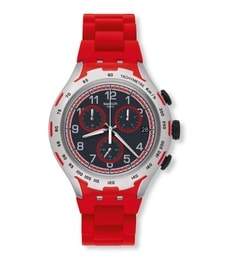 Hodinky Swatch Red Attack YYS4018AG