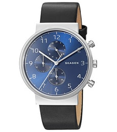 Hodinky Skagen Ancher Leather Chronograph SKW6417 96976a268d