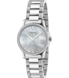 Hodinky Gucci G-Timeless Mother of Pearl Diamond YA126543