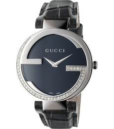 Hodinky GUCCI Interlocking 45 Diamond YA133305