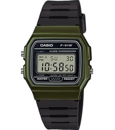 Hodinky Casio Collection F-91WM-3AEF