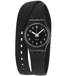 Hodinky Swatch Lady Black Single LB170E