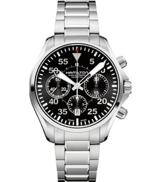 Hodinky Hamilton Aviation PILOT AUTO CHRONO H64666135