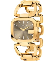 Hodinky Gucci G Brown Dial Gold-tone YA125408
