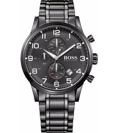 Hodinky Hugo Boss Black Contemporary Sports Aeroliner Chrono 1513180