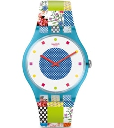Hodinky Swatch Quilted Time SUOS108