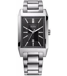 Hodinky Hugo Boss Black Classic Architecture Rectangular 1512917