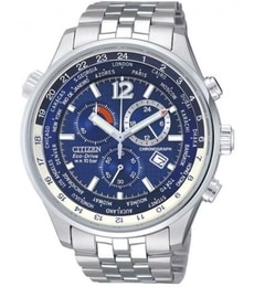 Hodinky Citizen Chronograph World Time AT0360-50L