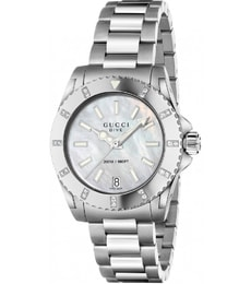 Hodinky Gucci Dive Mother Of Pearl Dial YA136406