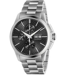 Hodinky Gucci G-Timeless Chronograph Automatic Black YA126264