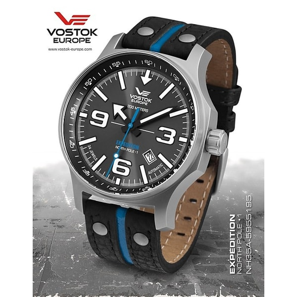 "Vostok Europe Expedition ""NORTH POLE-1"" Automatic"