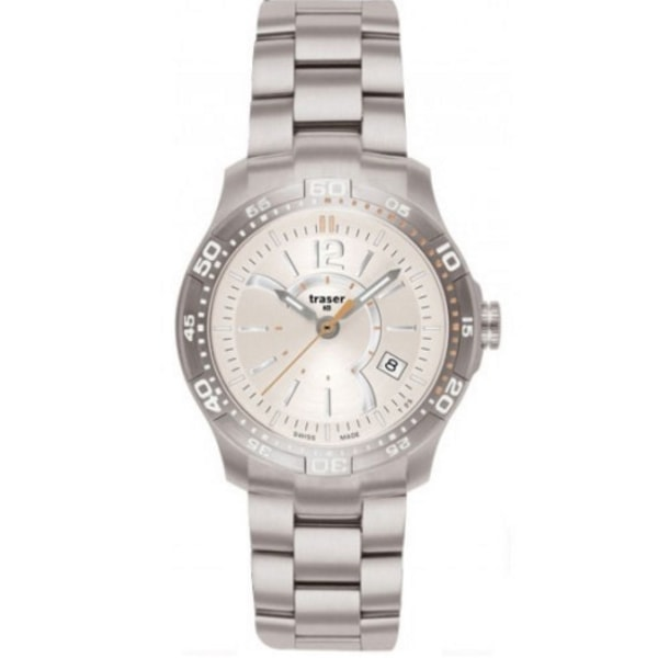 Traser H3 Classic Ladytime Silver Stahl