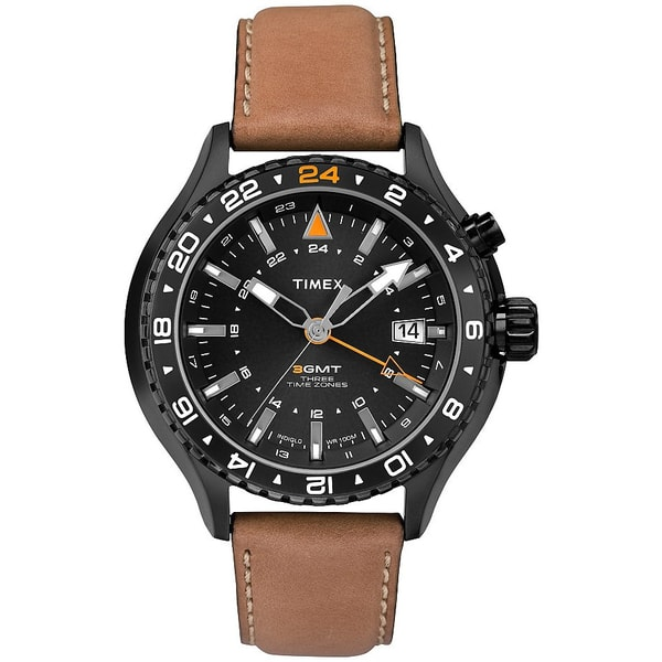 Timex Intelligent Quartz 3-GMT