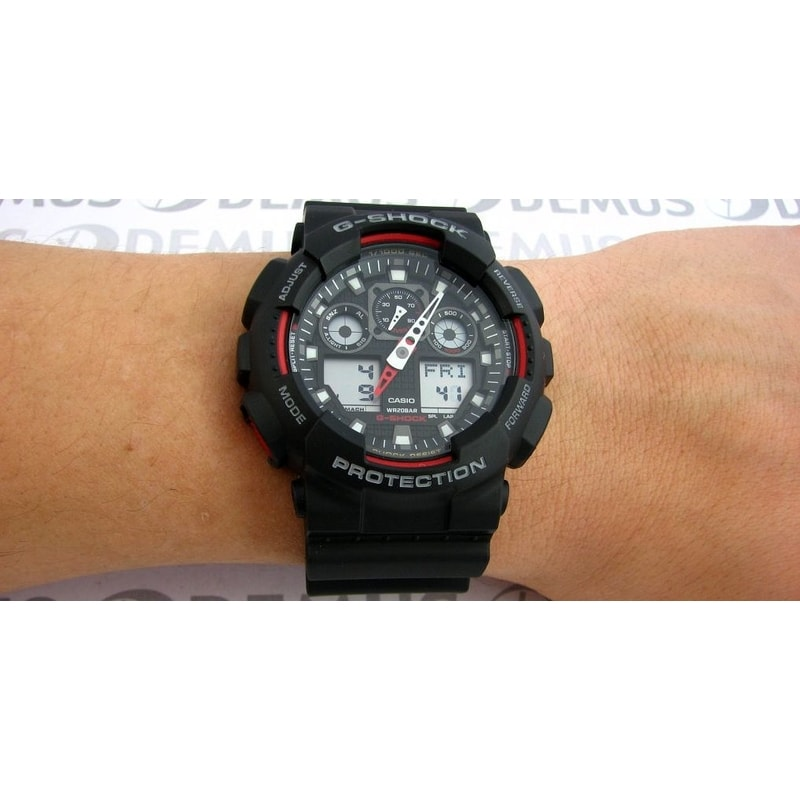 how to set time on g shock ga 110gb