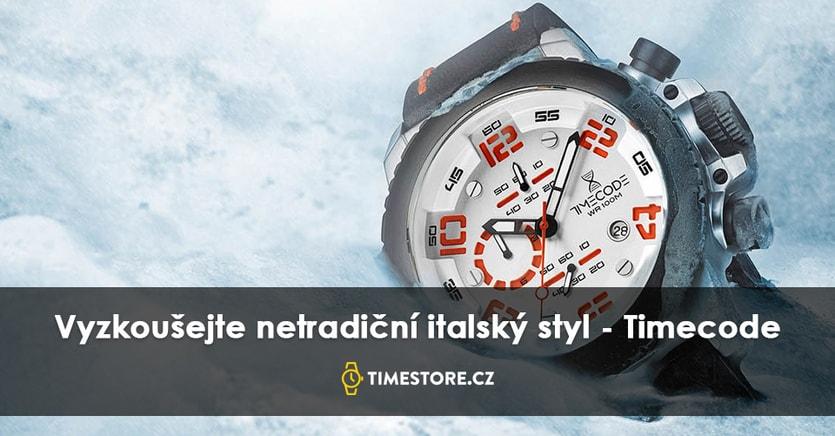 CHCETE ZÍSKAT ITALSKÝ STYL  ZKUSTE NOVOU ZNAČKU HODINEK TIMECODE ... f254d651ef
