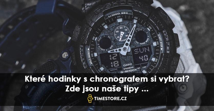 78dd429f727 HODINKY S CHRONOGRAFEM JSOU OPĚT V MÓDĚ  KTERÉ SI VYBRAT  - TimeStore.cz