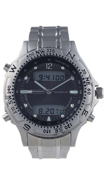 Pierre Helvet Stainless Steel Sporty Collection P04P60