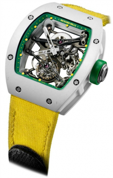 Richard Mille Tourbillon Prototype Yohan Blake