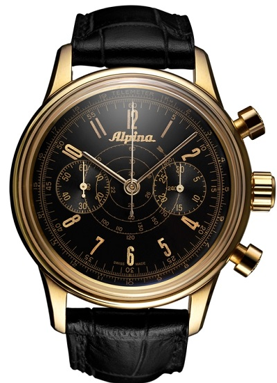 Alpina 130 Heritage Pilot Chronograph Automatic