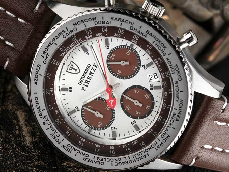 Detomaso Firenze Brown-Silver