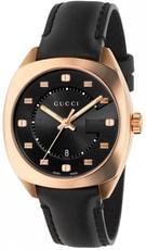 Gucci GG2570 Black Dial Rose Gold-Tone Ladies Watch YA142407 - 30 dnů na vrácení zboží